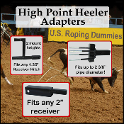 High Point Heeler adapters