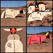 Quicksteer Jr roping dummy